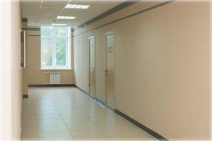 Время 1 этаж коридор