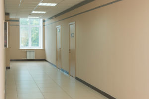 МОП 1 этаж - коридор