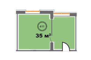 411 планировка