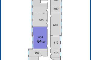 6 этаж Палладий схема