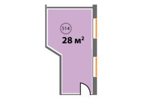 514 планировкан