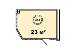 оф.314 планировка