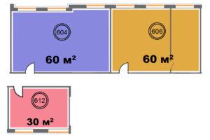 604+606+612 - 150 м2 - вар.2