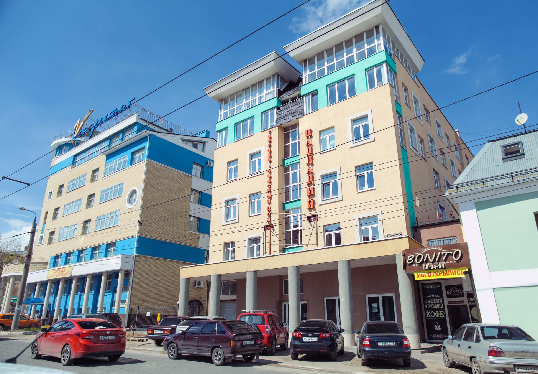 фасад БЦ Палладий фото 5