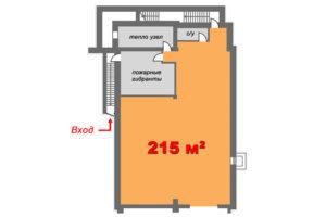 Цоколь 215 м2 планировка