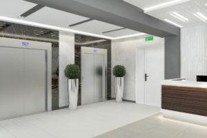 БЦ ''Альфа'' - лифты