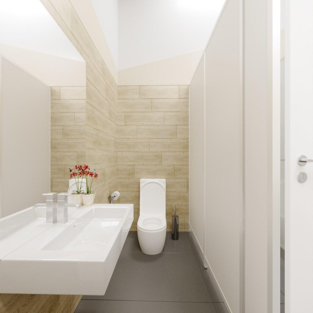 БЦ ''Альфа'' - туалет 2
