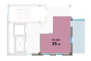 609 планировка 35 кв м