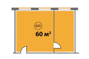 605 планировка