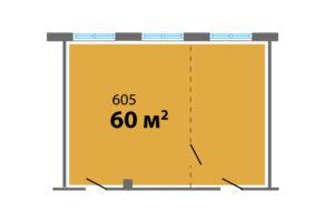 планировка 605 60 м