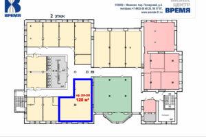 Время 2 этаж 203-205без перегородок