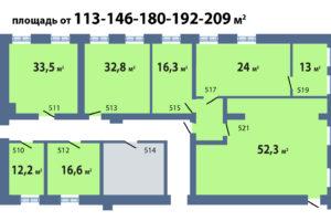 схема а эетаже 208 кв м с метражами_2