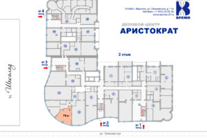11 б оф Аристократ на этаже