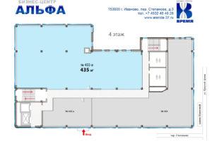403 а 435 кв м схема Альфа