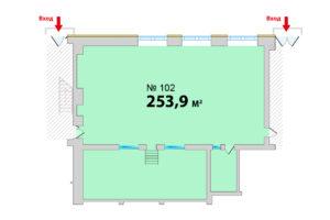 102 ВГ_253,9 кв м планировка