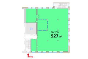 209 ВГ 527 кв м планировка